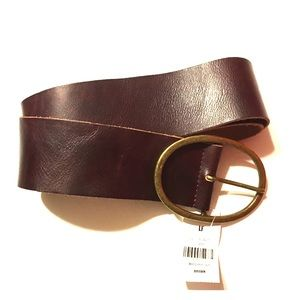 NWT LF brown leather belt.